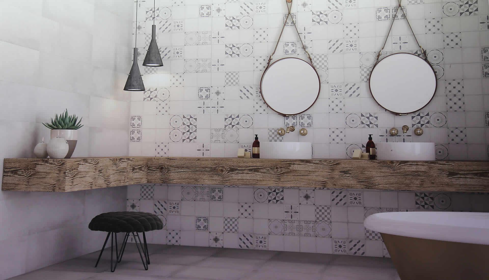 baños-diseño-exclusivo-espejos-bañera