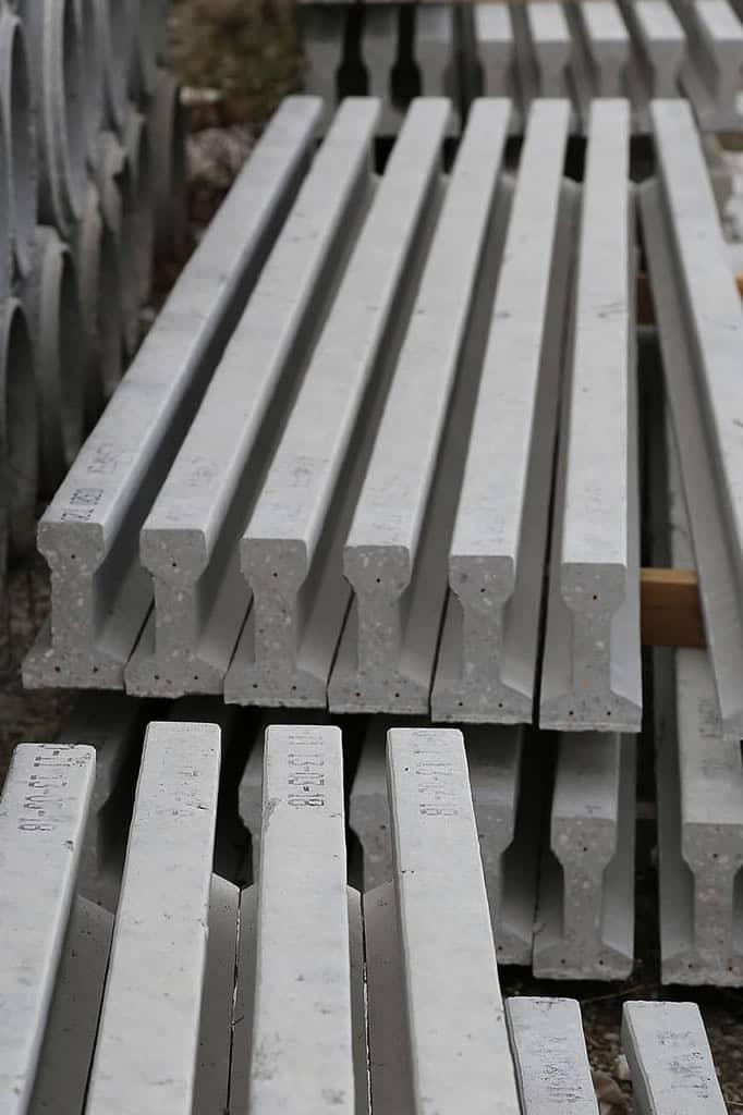 viga-hormigón-prefabricado-materiales construcción