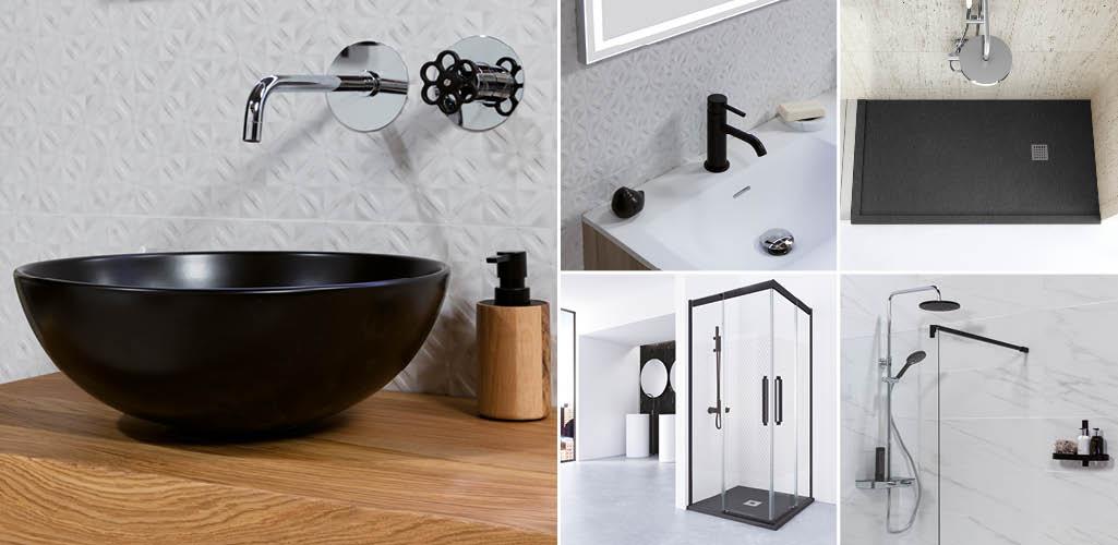 baños-lavabo-ducha-mampara-grifería-plato ducha